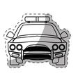 figure car police icon image vector image vector image
