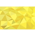 Geometric yellow background with triangular vector image
