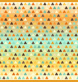 glowing shamrock pattern seamless vector image vector image