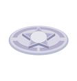 icon manhole vector image vector image