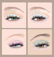 Make-up-eyes vector image vector image