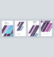 minimal brochure templates abstract background vector image