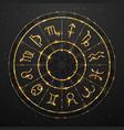 modern magic witchcraft astrology golden wheel