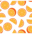 seamless orange background vector image