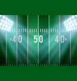 background for american football stadium vector image vector image