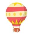 Baloon icon cartoon style vector image