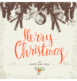 Merry Christmas 2017 vector image vector image