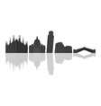 skyline of Italy vector image vector image
