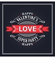 Valentine s Day Greeting Cards vector image vector image