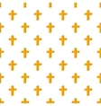 Cross pattern cartoon style vector image vector image
