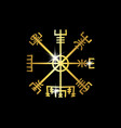 decoding ancient symbols norsemen vector image
