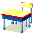 School table vector image
