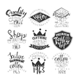 Sewing Shop Vintage Stamp Collection vector image vector image