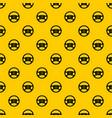 steering wheel taxi pattern vector image vector image