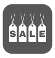 The label with an inscription sale icon Discount vector image vector image