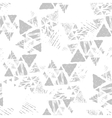Triangle seamless pattern vector image vector image