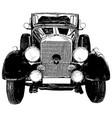 vintage 1930s style automobile vector image