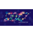 2017 new year greeting banner vector image