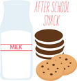 After School Snack vector image vector image