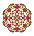 circular decorative ornament mandala design arabic vector image vector image