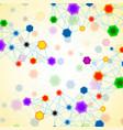 hexagonal molecule structure of dna vector image vector image
