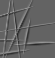 paper cut lines vector image vector image