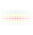 pliers spectrum halftone matrix vector image