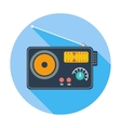 Radio single icon vector image