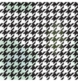 Seamless houndstooth pattern vector image
