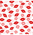 seamless lips background vector image vector image