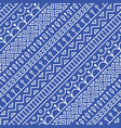 seamless pattern inspired by scandinavian finnish vector image vector image