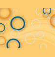 abstract background-with-circles vector image
