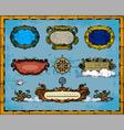 antique map frame decorations