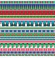 christmas borders vector image vector image