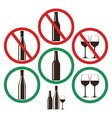 Do Not Drink vector image vector image