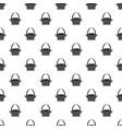 easter basket pattern vector image vector image
