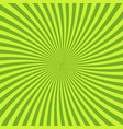 green psychedelic background with rays lines or vector image