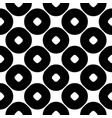 monochrome seamless pattern circles texture vector image vector image