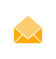 opened mail graphic icon design template vector image vector image