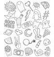 patch set on white background vector image