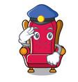 police king throne character cartoon vector image