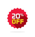 sale tag badge template 20 off label