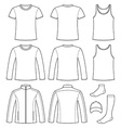 Singlet T-shirt Long-sleeved T-shirt Jacket Socks