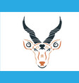 tribal blackbuck vector image vector image