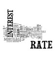 adjustable rate mortgages offer alternatives for vector image vector image