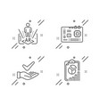 augmented reality motherboard vector image vector image