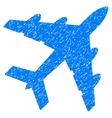 Bomber Grainy Texture Icon vector image vector image