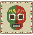 day dead decoration vector image