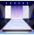 Fashion runway poster vector image vector image
