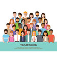 group people at work vector image vector image
